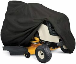 Heavy Duty Outdoor Lawn Mower Tractor Cover 55in Long w Drawstring amp; Storage Bag $15.88