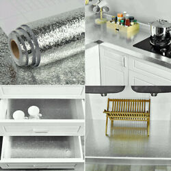 Home Kitchen Decor Oil proof Foil Wall AdhesiveSticker Waterproof Self $6.76