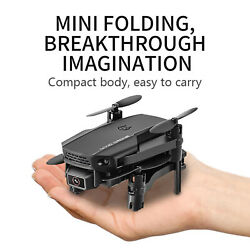 Foldable Mini Drone Toy Drones Camera Helicopter Toys RC Distance30M $34.50