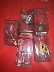 APPLAUSE Episode 1 STAR WARS DANGLERS Spaceships Lot of 5 $10.99