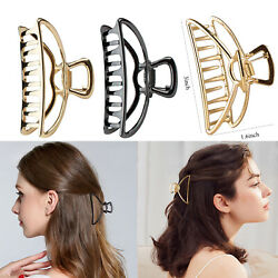 Large Metal Hair Claw Clips Clamp Accessories Hairpin Grip Jaw Barrette Women $5.99
