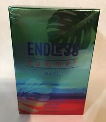 RUE 21 ENDLESS SUMMER FOR HIM 2017 LIMITED EDITION COLOGNE SPRAY 1.7 OZ. NEW $61.10