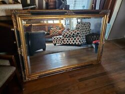 Large vintage wall mirror $135.00