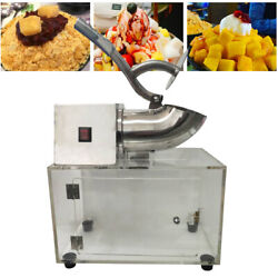 Electric Shaved Ice Machine Commercial Grade Ice Shaver Ice Snow Maker 1400 rpm