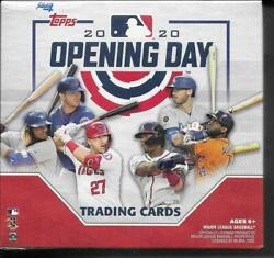 2020 Topps Opening Day Target Red Edition Box Red Parallel $44.99