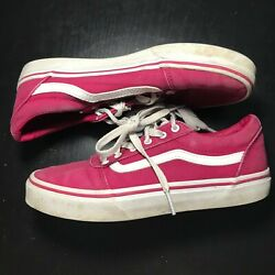 Pink Vans Off the wall girl size 4 $25.00