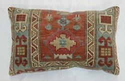 Large Rustic Rug Pillow $250.00