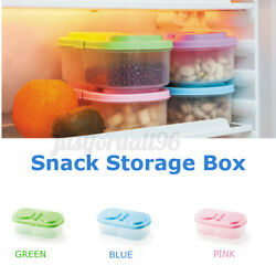 Fresh Fruit Snacks Storage Plastic Kitchen Container Sauce Food Box Crisper U $8.80