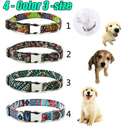 Dog Collar Personalized Collars Personalized Soft Comfortable Adjustable Collars $7.44