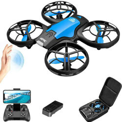 V8 2021 New Mini Drones With HD Camera 4K 1080P Remote WiFi FPV Foldable RC Toys $37.99