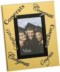 FASHIONCRAFT 12557 Gold Graduation Picture Frame Mini Frame Metal Picture... $26.99