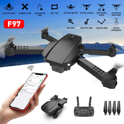 Mini Drone Wide Angle 4K WiFi FPV Camera RC Foldable Quadcopter Kids Adult Toy $30.25