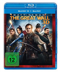 THE GREAT WALL 3D GERMAN IMPORT BLU RAY NEW $29.62