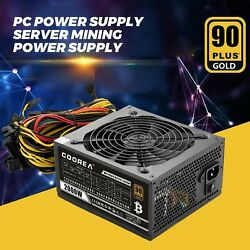 2000W PC Power Supply Server Mining Power Supply Support 8 Graphics Cards New $152.99