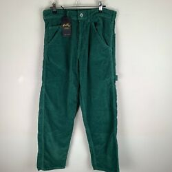 Stan Ray Painter Pant Cord Trousers Indian Green W27 Short GBP 50.00