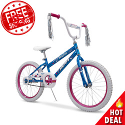 20quot; Sea Star Girls Bike Kids Bicycle Pink for 5 9 years old Durable Steel Frame $73.13