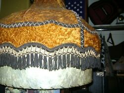 Antique Lamp Shade Large $25.00