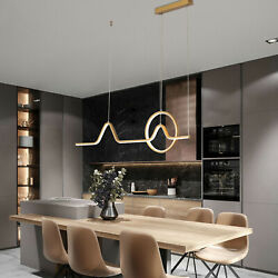 Modern LED Pendant Hanging Lamp Dimmable Ceiling Light Dining Room Chandelier US $99.02