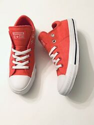 Converse All Star Womens 9M Pink Canvas Sneakers Low Top Madison # 564332 NEW $41.99