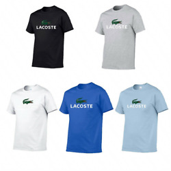 Unisex Vintage Original Lacoste Short Sleeve T Shirt Casual Tops Sportswear US $18.29