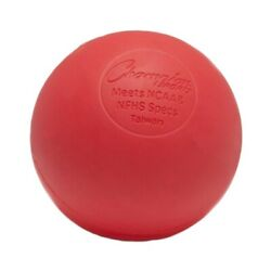 Champion Sports Official Size Rubber Lacrosse Ball Red Single $7.88