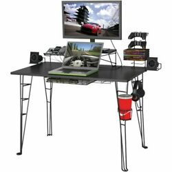 Atlantic Gaming Desk Black $133.51