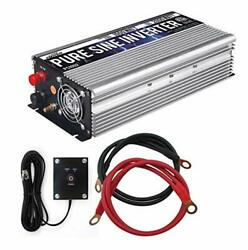 GoWISE Power 1000W Pure Sine Wave Inverter 12V DC to 120V AC with 2 AC Outlet... $213.24
