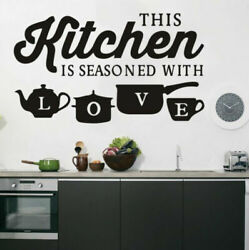 PVC Kitchen Wall Sticker Home Art Wall Decal Bedroom Room Decoration Accessories $8.99