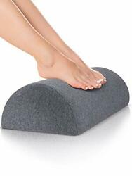 Foot Rest for Under Desk at Work Nordic Grey Firm Comfortable for Home $22.14