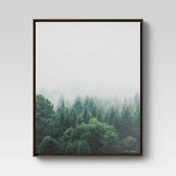 Forest Framed Wall Canvas $40.00