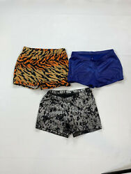 Cheer or Gymnastics Girls Booty Shorts 3 piece LOT size Small $20.00