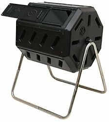 IM4000 Dual Chamber Tumbling Composter Black Composter $127.94