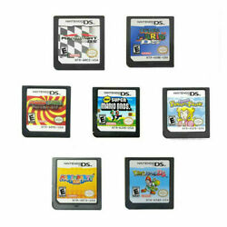 3DS 2DS DS NDSL Lite Mario Kart Super Mario64 Mario Party For Nintendo GAME Card $13.99