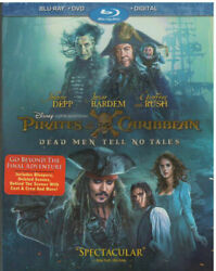 Pirates of the Caribbean: Dead Men Tell No Tales Blu ray DVD 2017 Movie HD $11.00