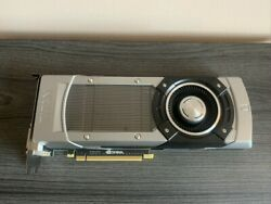 EVGA GeForce GTX TITAN 06G P4 2790 KR 6GB 384 Bit GDDR5 SLI Support $350.00