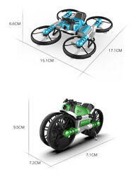 Camera Of 2.4g Remote Control Morphing Motorcycle Folding Quadcopter Is 30w Pixe $49.99