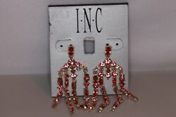 INC International Concepts Stone Chandelier Earrings Rose Gold $8.22