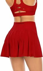 Pleated Tennis Skirts for Women with Pockets Shorts Athletic Golf Skorts Activew $48.82