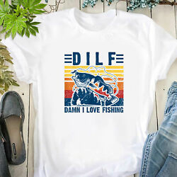 Mens funny fishing shirts damn i love fishing shirt fisherman tee T Shirt $19.00