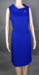 TAHARI ROYAL BLUE DRESS SIZE 8