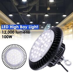 4x 100W LED UFO High Bay Light Factory Warehouse Industrial Commercial Lighting