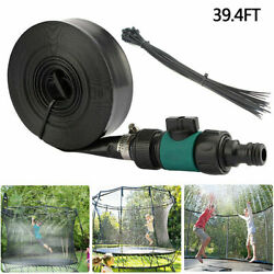39ft Trampoline Sprinkler Kids Summer Outdoor Water Toy Fun Waterpark Spray $12.99