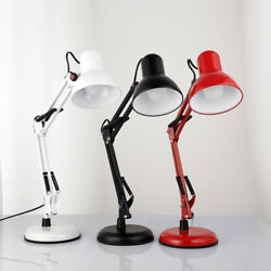 LED Desk Lamp Swing Arm Folding Reading Architect Table Lamp Home Office $31.49