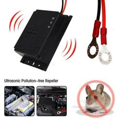 Ultrasonic Vehicle Mouse Repellent Rat Repeller For Car Non Toxic Low Power 12V $13.88