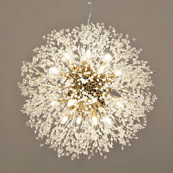 Modern Sputnik Chandelier Fireworks Pendant Light Crystal Ceiling Light Fixture $64.99