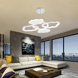 Cloud Shaped Ceiling Light LED Chandelier Room Decor Energy Efficient with Bulb $147.66
