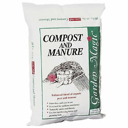Michigan Peat 5240 Outdoor Lawn Garden Compost and Manure Blend 40 Pound Bag $23.38