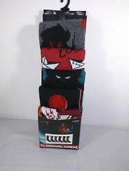 Men's Size 8 12 Socks Stephen King#x27;s IT 6 Pair Casual Crew Pennywise Chapter Two $14.00