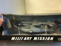 1 60 US Marines Bell V22 Osprey Helicopter Airplane Die Cast Model Display Toy $23.50
