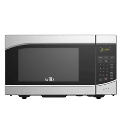 Modern Countertop Small Microwave Sensor Cooking Stainless Steel 0.9 cu. ft. New $86.28